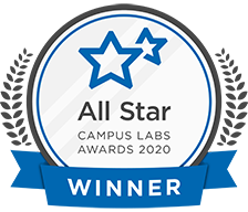 Campus Labs All Star Award Winner