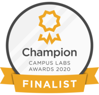 Campus Labs Champion Finalist Award