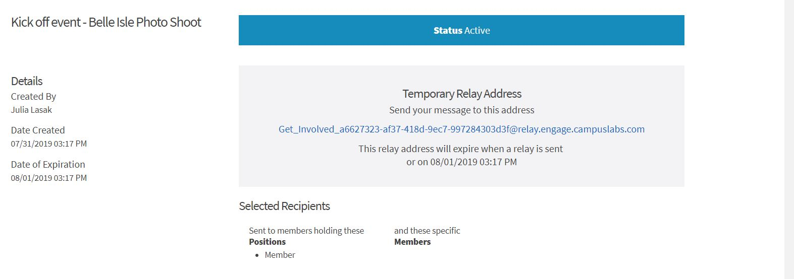 How to send relay messages - Dean of Students Office - Wayne